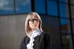 Young confident businesswoman Stock Image