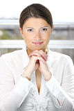 Young confident businesswoman stock photography