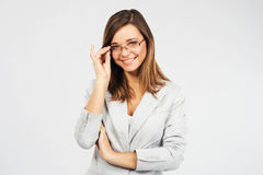 Young confident businesswoman Royalty Free Stock Photography