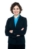 Young confident corporate woman portrait Stock Image