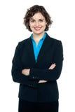 Young confident corporate woman portrait Stock Image