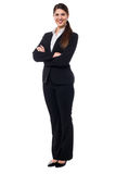 Young confident female business executive Stock Photo