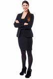 Young confident female business executive Royalty Free Stock Photo