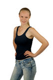 Young  confident girl Royalty Free Stock Images