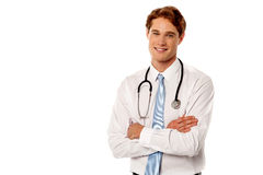 Young confident male doctor Stock Photos