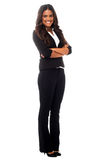 Young confident mixed latin businesswoman Royalty Free Stock Images