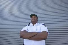Young Confident Security Guard Royalty Free Stock Images