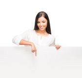 Young, confident, successful and beautiful businesswoman Royalty Free Stock Images