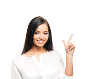Young, confident, successful and beautiful businesswoman Royalty Free Stock Photo