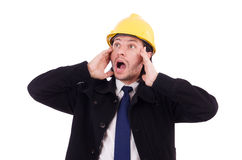 Young construction architect Stock Photography