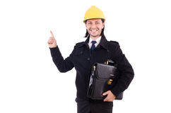 Young construction architect Stock Photo
