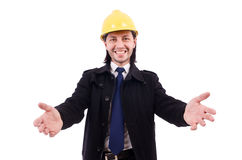 Young construction architect Stock Images