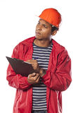 Young construction engineer Royalty Free Stock Photography
