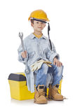 Young Construction Man Stock Photo