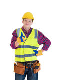 Young construction worker Royalty Free Stock Photo