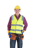 Young construction worker Stock Photography