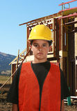 Young Constuction Worker Royalty Free Stock Photo