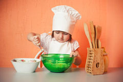 Young cook Stock Photos
