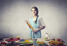 Young cook Royalty Free Stock Image