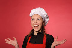 Young cook Stock Images