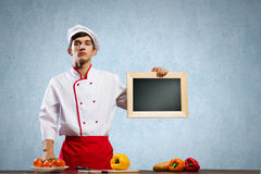 Young cook Royalty Free Stock Photos