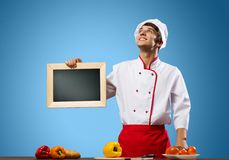 Young cook Stock Image