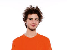 Young cool  man dozing smiling portrait Stock Image