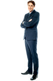 Young corporate guy, full length shot. Stock Photography