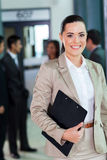 Young corporate worker Stock Images
