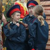 Young Cossacks. Stock Images