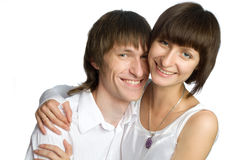 The young couple Royalty Free Stock Images