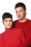 Young couple royalty free stock photos