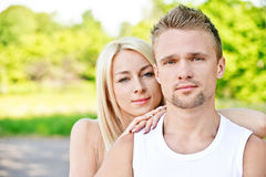 Young couple Stock Photography