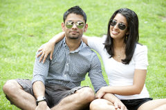 A Young Couple Royalty Free Stock Image