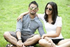 A Young Couple Stock Photos