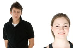 Young Couple Royalty Free Stock Photo