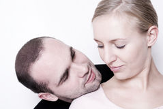 Young couple. royalty free stock image