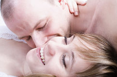 Young couple. / Summer love, romance and a happy lifestyle Stock Photos