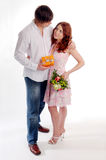 The young couple Royalty Free Stock Photo