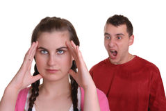Young Couple Arguing Royalty Free Stock Image