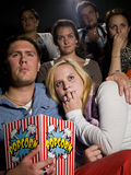 Young couple at the cinema Royalty Free Stock Images