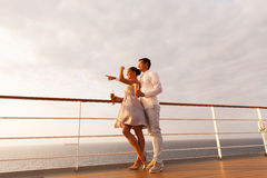 Young couple cruise Stock Photos
