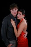 Young Couple Dancer Posing in front of Camera Stock Photography