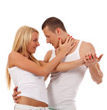 Young Couple Dancing Royalty Free Stock Photos