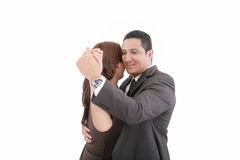Couple dancing Stock Photography