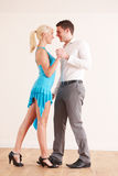 Young Couple Dancing Together Stock Photography