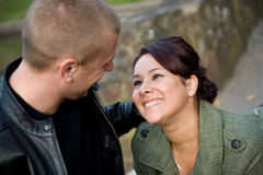Young Couple Dating stock photos