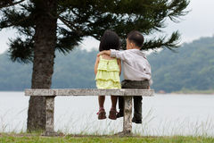 Young couple dating Royalty Free Stock Photo