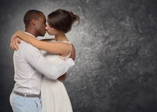 Young couple deeply in love Royalty Free Stock Images