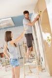Young couple DIY Royalty Free Stock Photos